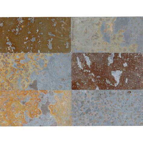 multicolor slate tile brazilian multicolor natural cleft slate tile 12 quot x24 quot