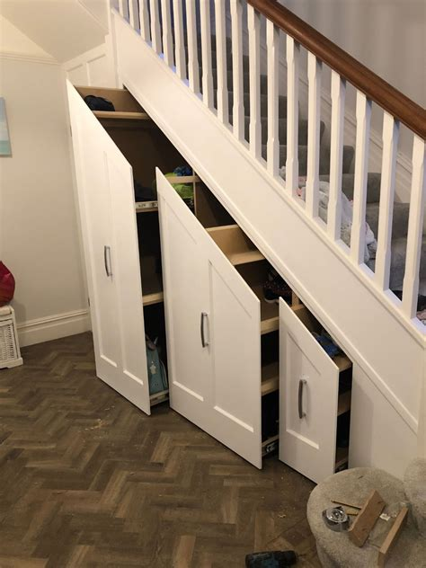 If you don't have a lot of storage in your home and you're looking for a new place to organize your belongings, keeping items under your stairs is a great way to save space. Sliding Under Stairs Storage Solutions Bournemouth & Poole