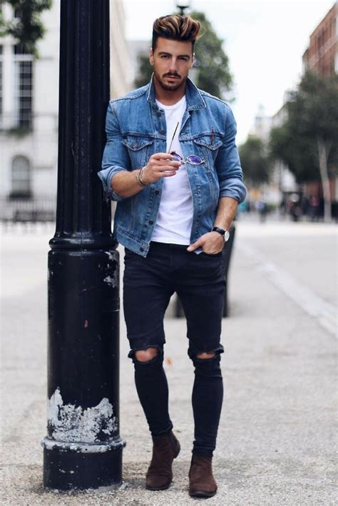How To Wear A Denim Jacket For Men u2013 LIFESTYLE BY PS