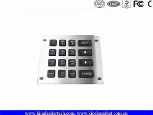 Waterproof Illuminated Numeric Keypad   Panel Mount Keypad