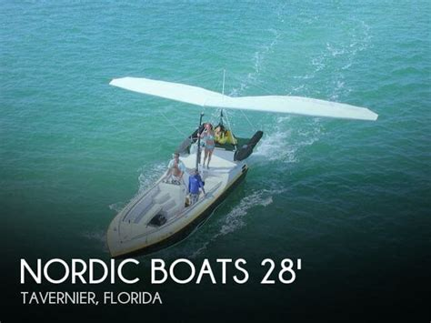 Parasailing Boats For Sale In Florida by Unavailable Used 1992 Nordic 28 Ascender Parasail Hang