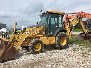 John Deere 410g Backhoe Loader Official Workshop Service