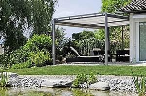 Sonnenschutz Für Pergola : horizontalrollstore f r sonnenschutz auf ihrer pergola ~ Eleganceandgraceweddings.com Haus und Dekorationen