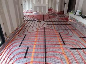 Couler Une Chape : plancher chauffant maison smart ~ Melissatoandfro.com Idées de Décoration