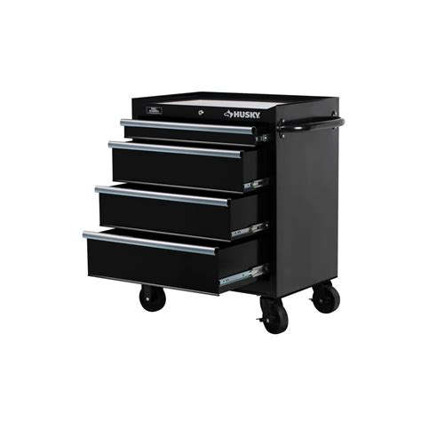 Waterloo 5 Drawer Tool Cabinet by Husky Rolling Tool Cabinet Chest Box Wide 4 Drawer Toolbox