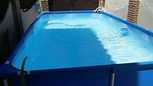Como mantener limpia una piscina de plastico youtube for Como mantener libres de toxinas