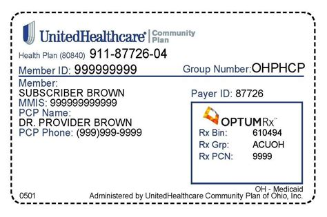 caresource phone number ohio health insurance card exles clipartsgram