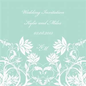 Wedding invitation background designs mint green matik for for Wedding invitation background designs mint green
