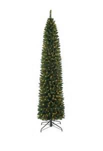 6 ft ticonderoga pencil clear lit tree tree market
