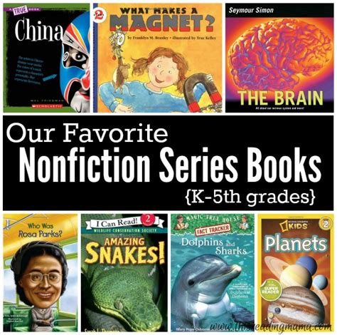Favorite Nonfiction Series Books {for K5th Grades} This
