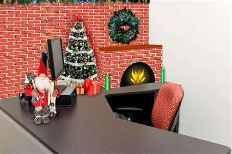 ideas  christmas cubicle decorations lovetoknow