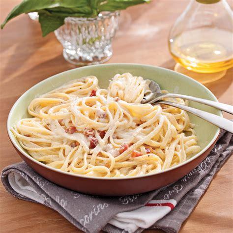 cuisine recettes pratiques pâtes alla carbonara recettes cuisine et nutrition