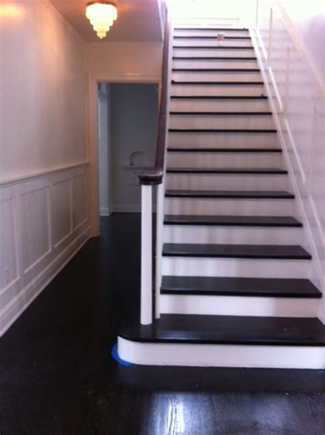 Wainscoting Throughout House by A Lifestyle Thing House Updates Wainscoting Stairs Hallway