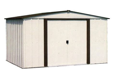 Kmart Metal Storage Sheds by Arrow Nw108 A 10 X 8 Newburgh Shed In Brown And