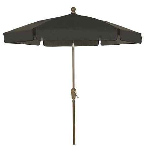 patio umbrellas on fiberbuilt umbrellas 7 5 ft patio umbrella in black