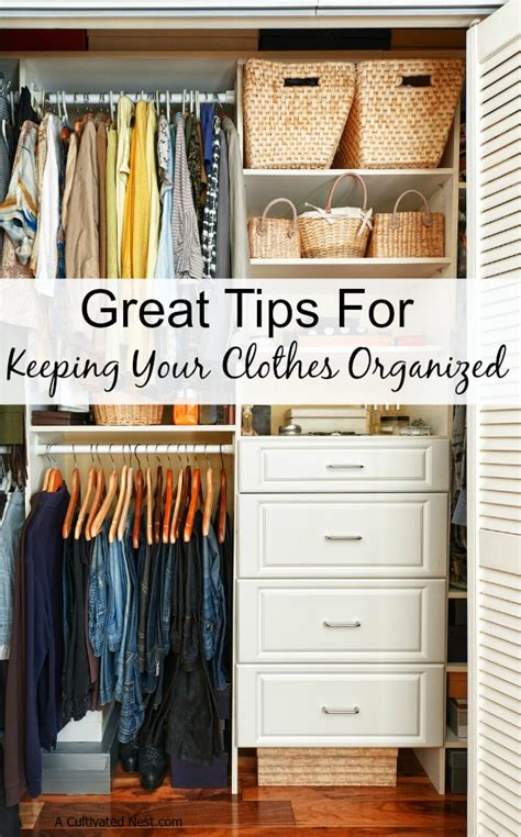 How To Organize Your Clothes In A Small Closet by How To Keep Your Clothes Organized
