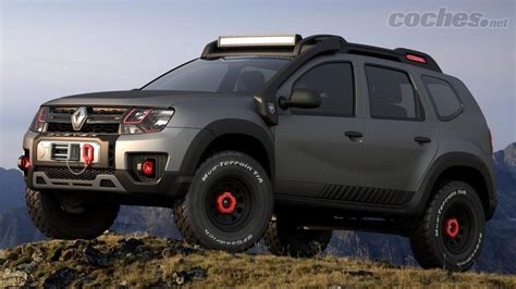 renault dacia duster 2017 renault duster 4x4 extreme concept noticias coches net