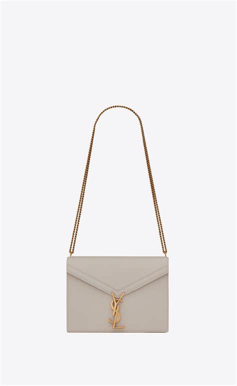 saint laurent cassandra monogram clasp bag  grain de poudre embossed leather yslcom