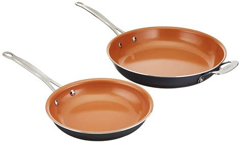 gotham steel frying pan  lid frying pan