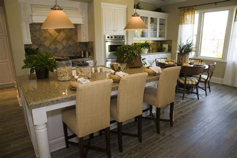 eat at island in kitchen 35 captivating kitchens with dining tables pictures 8855