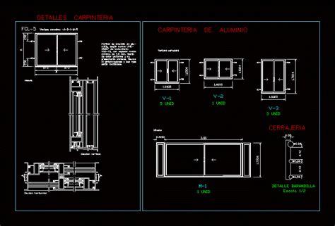 sliding window dwg detail  autocad designs cad