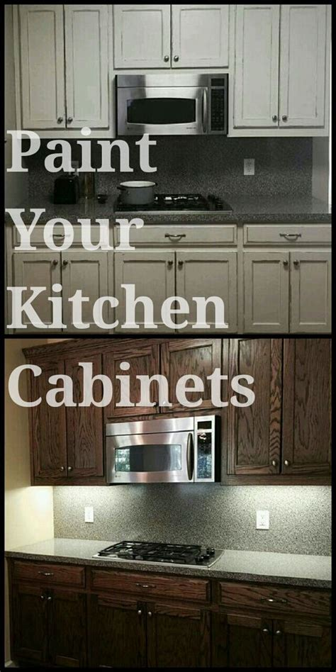 Decor Ideas For Kitchen - paint your kitchen cabinets with rethunk junk paint easiest paint to use on the market