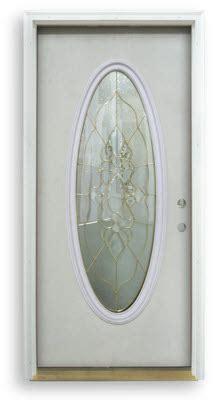 oval door oval glass mahogany entry door