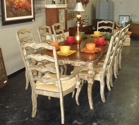 country dining room set country style dining room chairs