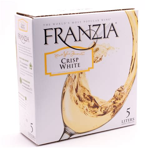 Ziel Farm Boone Ia Address by Franzia Crisp White Box Wine 5l Beer Wine And