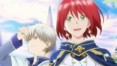 Hulu Anime Akagami Romance Shirayuki Hime Snow
