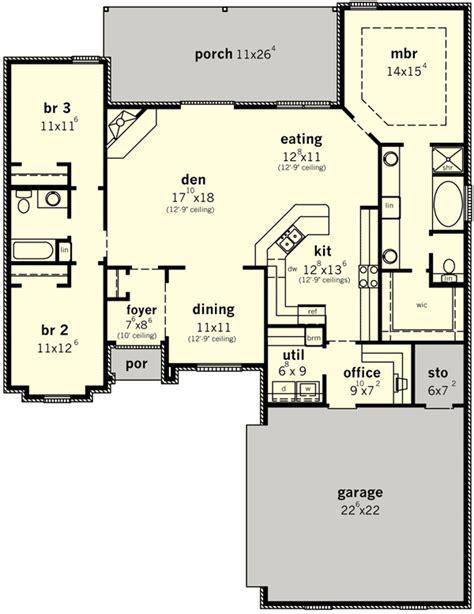 plan dc wonderful open floor plan   houses