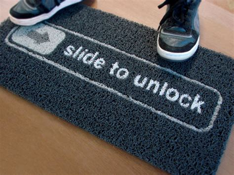 Slide To Unlock Doormat by German Court Invalidates Apple S Slide To Unlock Patent