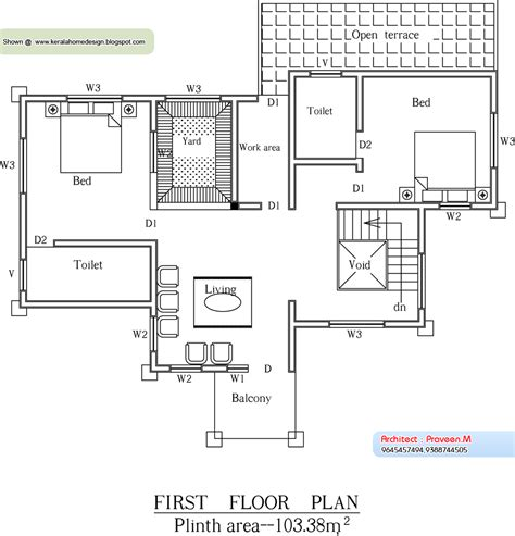 square house floor plans kerala home plan and elevation 2656 sq ft home appliance