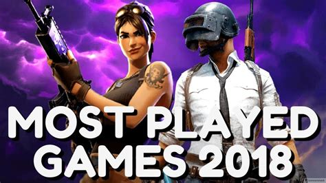 Top 10 Most Popular Video Games In 2018 (most Played Games In The World In 2018) Youtube