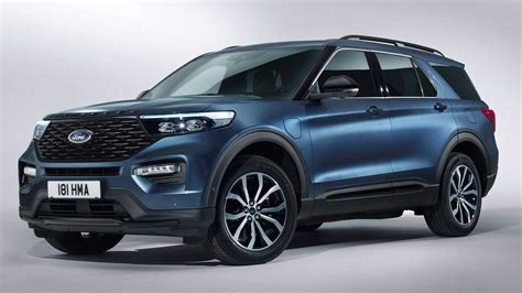ford explorer phev revealed  europe   hp