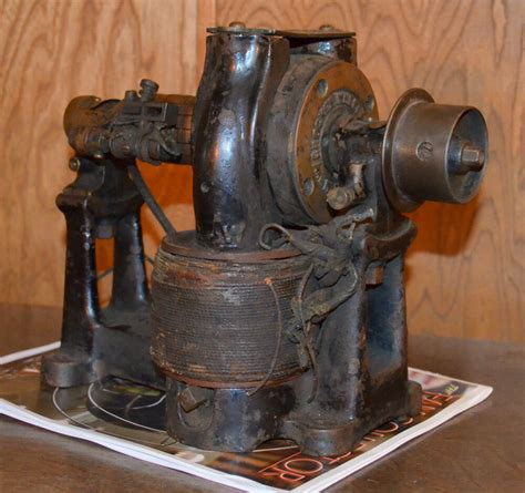 Antique Electric Motor by Early Antique Electric Crocker Wheeler Bipolar Motor