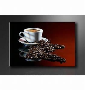 Cuadro Granos de Café y Taza 120cmx80 cm Cuadrosya