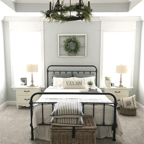 modern farmhouse master bedroom reveal  reasons