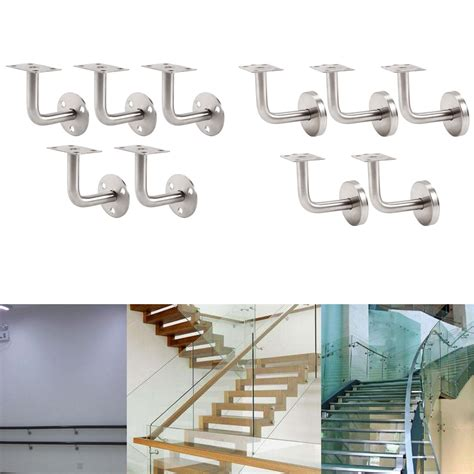 stainless steel banister handrail 5x stainless steel banister rail mounting handrail wall