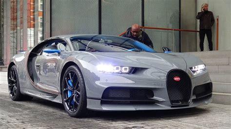 Bugatti Chiron Startup by 1 Of 1 Nardo Grey Bugatti Chiron Start Ups Driving
