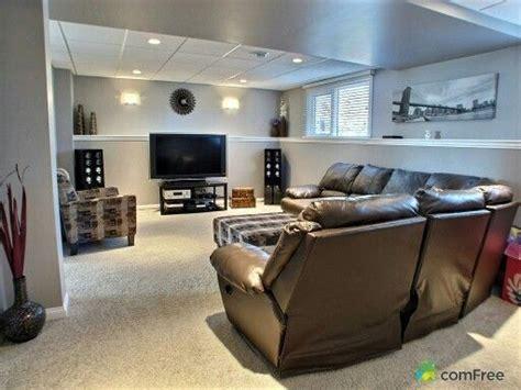 split level bi level basement living room basement