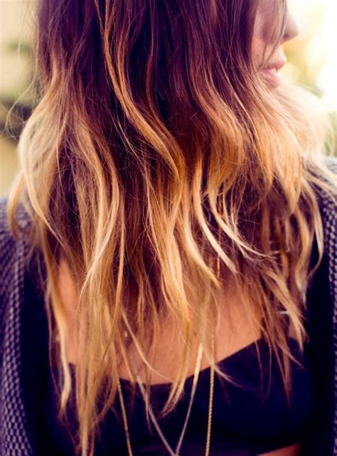 cool ombre hair color ideas popular haircuts