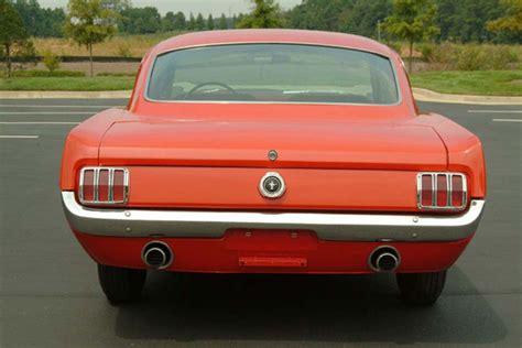 Glazier Nolan Mustang Barn vintage mustang forums rear bumper guards