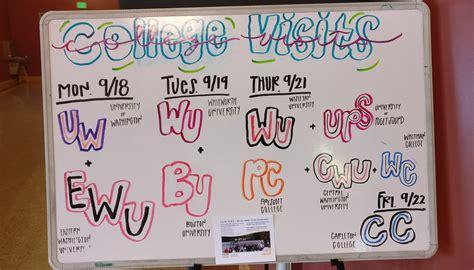 college visits week oct garfield high school ptsa
