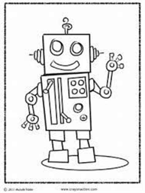 robot coloring pages images   coloring