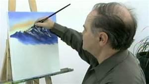 comment peindre des montagnes et travailler les details With comment peindre a l huile