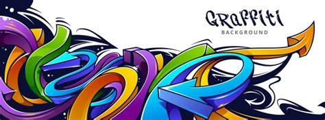 Graffiti Vector : Graffiti Design On Wall Vector