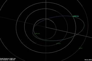 Watch Asteroid 2016 VA pass through Earth's shadow