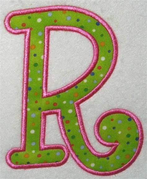 inch 3 letter script embroidered monogrammed sew on iron 132 best images about no sew appliques on free