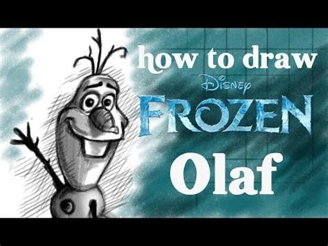 draw olaf  disney frozen youtube